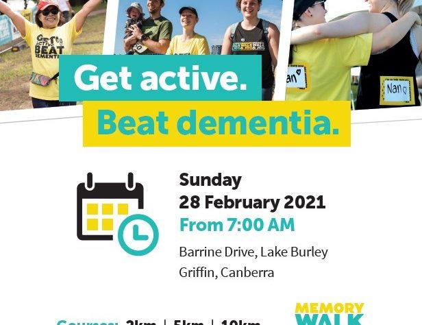Memory Walk and Jog Poster 2021